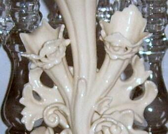 Vintage, Vase, Ornate Vase, Ivory Vase, Shabby Chic, Romantic,