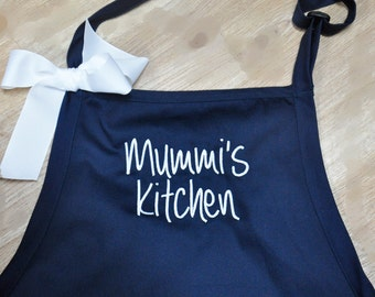 Personalized Apron, Monogrammed Apron, Custom Embroidered Apron, Chef Apron Personalized, Gift for Dad