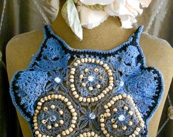 Crochet Beaded Collars