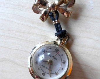 Stunning and Fabulous 1940s - 1950's Watch Brooch