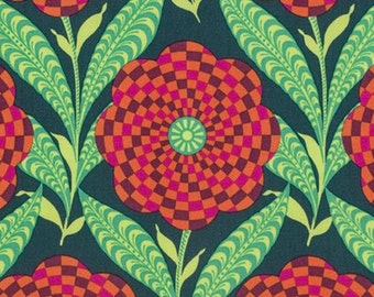 Amy Butler - Eternal Sunshine - Zebra Bloom - Ink
