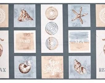 Wilmington Prints - Sand & Sea by Lisa Audit - Panel
