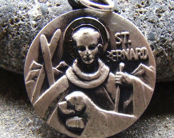 Vintage ST Bernard Sterling Medal