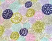 Reusable UnPaper Towels purple lime green pink aqua white Set of 10