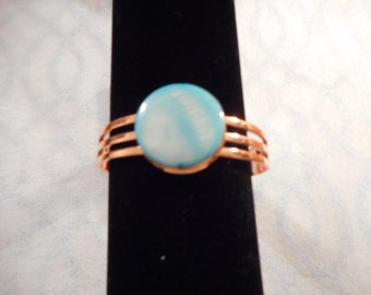 Unique hand made cuff bracelet