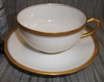 Vintage Limoges Tea Gift Set, Tea Set, Vintage Tea Set, Tea Cup, Vintage 1920's