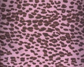 Pink Leopard Print, Chic Bebe by David Textiles, Pink Cheetah Print Fabric, Cheetah Fabric, Pink Fabric, 00165