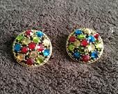 Vintage Weiss clip earrings