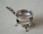 Vintage Silver Tea Strainer Infuser