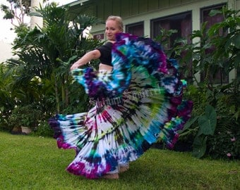 This is Janice hand dyed skirt