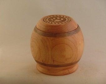 Alder Wood Pet Urn # 1073-19