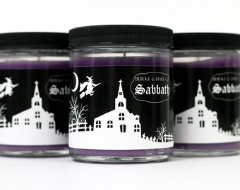 Halloween Candles - Witch - Sabbath - Incense