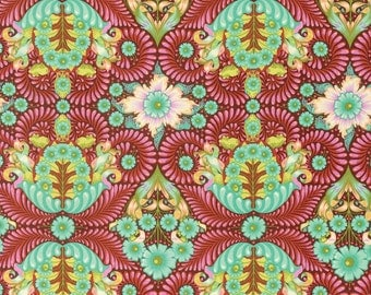 PRESALE - Slow and Steady - The Tortoise in Orange Crush - Tula Pink for Free Spirit - PWTP085-ORG - 1/2 Yard