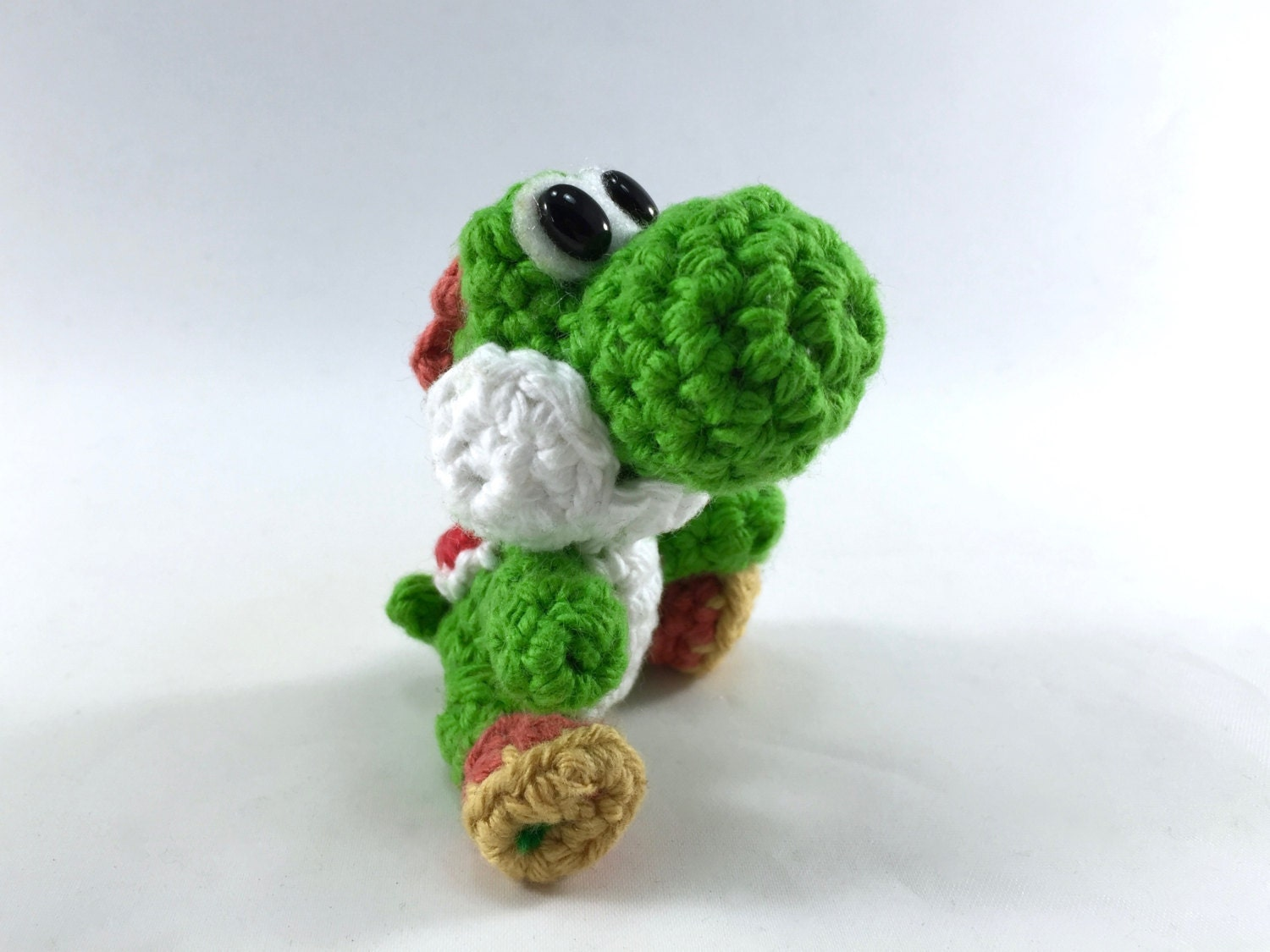 Mini Yoshi Amigurumi : Yoshi Mini Amigurumi Doll Choose your color