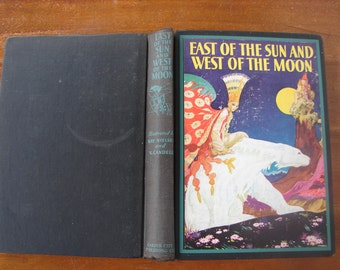 East of the Sun & West of the Moon, Kay Nielsen, Victor candell,c.1930,8 color plates