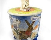 Rabbit Cookie Jar
