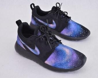 Nike Roshe Run - Custom Hand Painted Galaxy Design