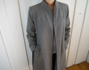 Vintage Beautiful Sak's Fifth Avenue Wool Coat Size 8