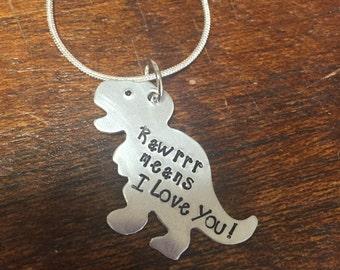 T-Rex Love Necklace