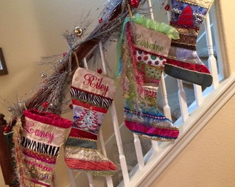 Custom handmade Christmas Stocking