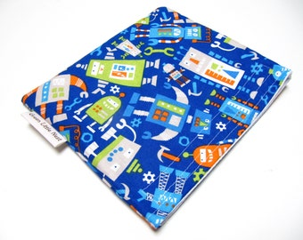Reusable Snack Bag,  Robot Snack Bag, Eco-Friendly Snack Bags, Robot Space Reusable Sandwich Bag