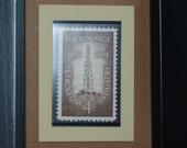 The Petroleum Industry - Vintage Framed Postage Stamp - No. 1134