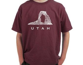 Boy's T-shirt -UTAH