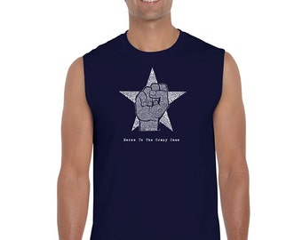 Men's Sleeveless Shirt - Steve Jobs - Here's To The Crazy Ones