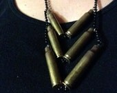 Confirmed Kills Bullet Casing Statement Necklace 12