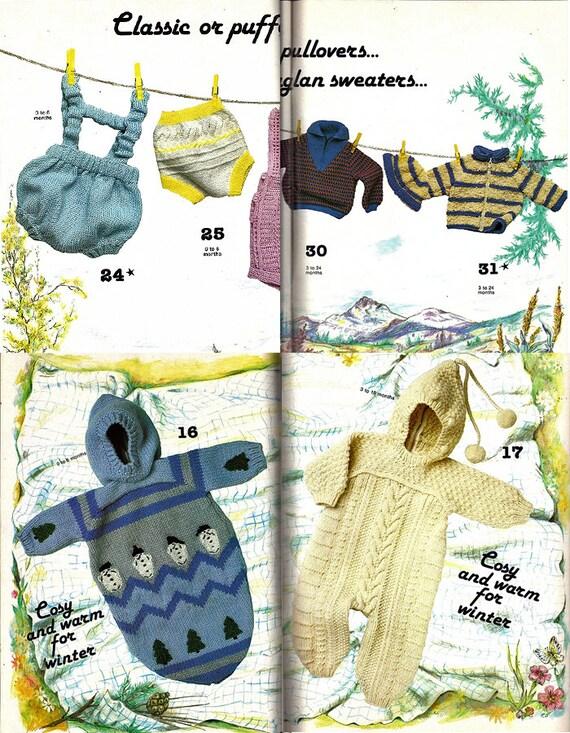 Phildar Baby Knitting Pattern Books : Close Up On Babys Layette Knitting Pattern Book Phildar