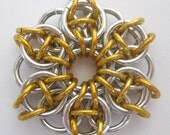 Pendant Gold Star of Merit Aluminum Celtic Star
