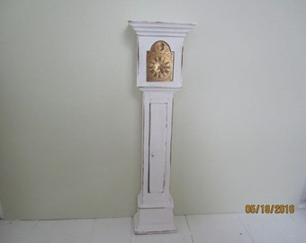 Dollhouse Miniature Vintage Grandfather Clock   (FREE SHIPPING)