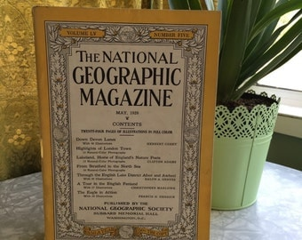 May 1929, Vintage Magazine, National Geographic, Vintage Photography, Vintage Photos