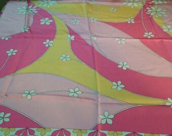 Mod Style Silk Scarf
