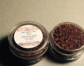 90% Organic Chocolate Lip Scrub- All Natural, Vegan & Gluten Free