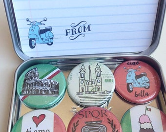 City of Rome Magnets, gift set
