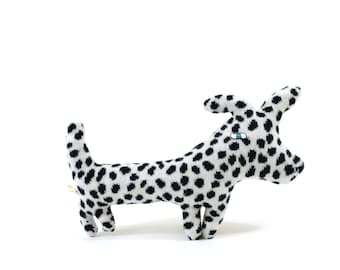Dali the Dalmatian - soft knitted toy