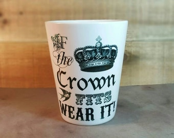 Latte Mugs Coffee Cup Crown Mug Queen Coffee Mug
