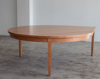 Large Solid Wood Dinning Table - Made to Order