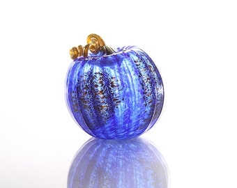 Blue Speckled Pumpkin