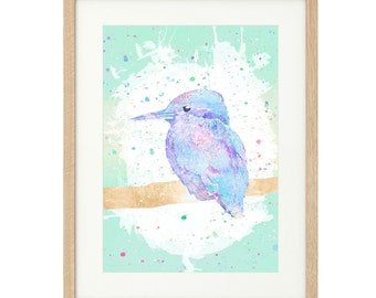 Kingfisher - Extra Large - Limited Edition Print