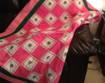 John Deere Goes Pink