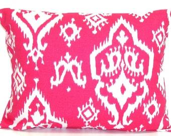 PINK Lumbar Pillow.12x20 16x20 or 16x24 inch.Pink Lumbar Pillow Cover.Pink Pillow.Pink Toss Pillow. Pink Throw Pillow.Pink Lumbar Pillow.Cm