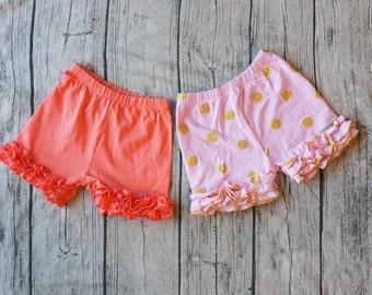 Toddler Shorts Ruffle Shorts Girls Shorts Baby Shorts Baby Girl Shorts Kids Shorts Baby Clothes Summer Shorts Toddler Clothes Baby Clothing