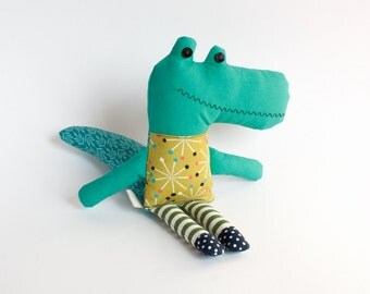 Little Crocodile Textile Stuffed Toy