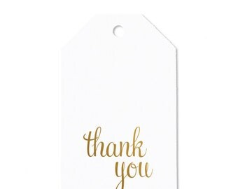 Thank You Personalized Gift Tag / Favor Tag