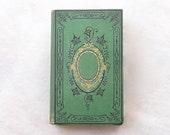 Wedding Guest Book, Literary Guestbook, Unique Journal, Wedding Vows, Rebound Journal, Travel Sketchbook, Green Guestbook, French Vintage