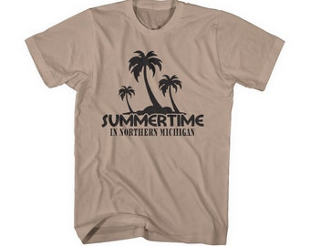 michigan t-shirt funny MI shirt humor midwest detroit kid rock tshirt men guy large xl 2xl 3xl hilarious screen printed graphic designs