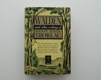 Walden by Henry David Thoreau.