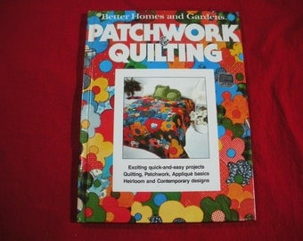 Patchwork and Quilting Book 1977 Better Homes and Gardens